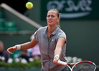 France, Paris, 31.05.2014. Tennis, French Open, Roland Garros, Svetlana Kuznetsova (RUS)<br /> Photo:Tennisimages/Henk Koster