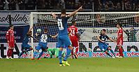 Germany, Sinsheim, 09.09.2017, 1. Football-Bundesliga,  2017/2018, 3.  match day, TSG 1899 Hoffenheim - FC Bayern Muenchen (2:0):  Mark Uth (TSG 1899 Hoffenheim); goal 2:0 Uth.  *** Local Caption *** © pixathlon<br /> Contact: +49-40-22 63 02 60 , info@pixathlon.de