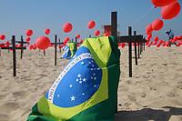 08/08/2020 - ATO EM HOMENAGEM AOS MIL MORTOS POR COVID NO RIO DE JANEIRO