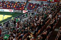 5th June 2021; Brentford Community Stadium, London, England; Gallagher Premiership Rugby, London Irish versus Wasps; London Irish fans keeping a social distance