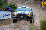 BERTELLI Lorenzo / SCATTOLIN Simone (Ford Fiesta RS WRC) during the World Rally Car RACC Catalunya Costa Dourada 2016 / Rally Spain, in Catalunya, Spain. October 15, 2016. (ALTERPHOTOS/Rodrigo Jimenez)