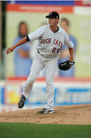 July 15, 2009:  Pitcher Matt Fox of the New Britain Rock Cats during the 2009 Eastern League All-Star game at Mercer County Waterfront Park in Trenton, NJ.  Photo By David Schofield/Four Seam Images