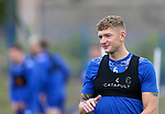 St Johnstone Training...14.08.21<br />Liam Gordon pictured during the final training session at McDiramid Park before heading to Austria to face Lask in the Europa Conference League qualifier.<br />Picture by Graeme Hart.<br />Copyright Perthshire Picture Agency<br />Tel: 01738 623350  Mobile: 07990 594431