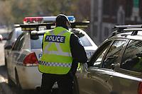 Photo d'archive de la police <br />  - circulation<br /> <br /> PHOTO :  AGENCE QUEBEC PRESSE