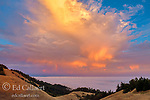 Sunset, Bolinas Ridge, Mount Tamalpais State Park, Golden Gate National Recreation Area, Marin County, California