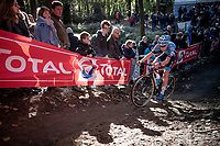 Pim Ronhaar (NED/Callant-Doltcini)<br /> <br /> Elite & U23 Mens Race<br /> 42nd Superprestige cyclocross Gavere 2019<br /> <br /> ©kramon
