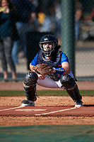 Kevin Krill during the Under Armour All-America Tournament powered by Baseball Factory on January 18, 2020 at Sloan Park in Mesa, Arizona.  (Zachary Lucy/Four Seam Images)