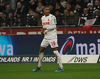 Ismail Jakobs (1. FC Koeln) - 18.12.2019: Eintracht Frankfurt vs. 1. FC Koeln, Commerzbank Arena, 16. Spieltag<br /> DISCLAIMER: DFL regulations prohibit any use of photographs as image sequences and/or quasi-video.