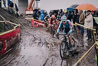 Kevin Pauwels (BEL/Marlux-Bingoal)<br /> <br /> Superprestige cyclocross Hoogstraten 2019 (BEL)<br /> Elite Men's Race<br /> <br /> ©kramon