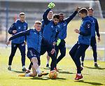 02.04.2019 Rangers training: Joe Worrall, Daniel Candeias and Jon Flanagan