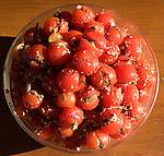 Stuffed Tomatoes, Casa Del Vino Restaurant, Florence, Tuscany, Italy