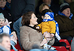 Ayr United v St Johnstone…..08.02.20   Somerset Park   Scottish Cup 5th Round<br />A young saints fan<br />Picture by Graeme Hart.<br />Copyright Perthshire Picture Agency<br />Tel: 01738 623350  Mobile: 07990 594431