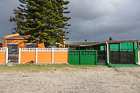 South Africa, Cape Town.  Middle-class Houses in Guguletu Township.