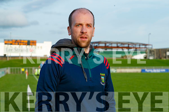 Mid Kerry Manager Peter O'Sullivan before the Kerry County Senior Football Championship Semi-Final match between Mid Kerry and Dr Crokes at Austin Stack Park in Tralee, Kerry.