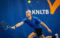 Amstelveen, Netherlands, 17  December, 2020, National Tennis Center, NTC, NK Indoor, National  Indoor Tennis Championships,   : Deney Wasserman (NED) <br /> Photo: Henk Koster/tennisimages.com