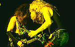 WASP -Blackie Lawless,Chris Holmes performing live in Los Angeles -Aug 1989