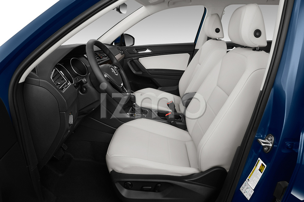 Front seat view of a 2019 Volkswagen Tiguan SE  5 Door SUV front seat car photos