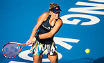 Angelique Kerber of Germany vs Daria Gavrilova of Australia during their Singles Quarter Finals match at the WTA Prudential Hong Kong Tennis Open 2016 at the Victoria Park Tennis Stadium on 14 October 2016 in Hong Kong, China. Photo by Victor Fraile / Power Sport Images