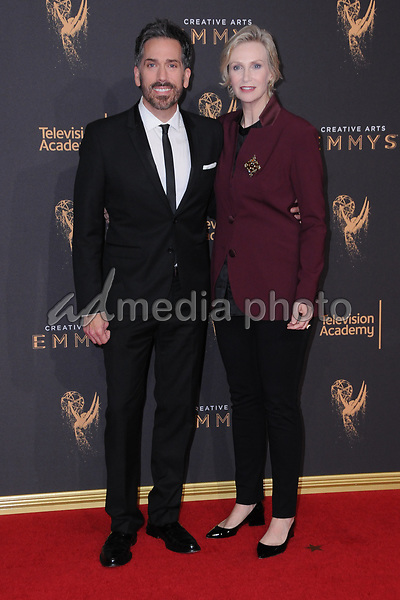 10 September  2017 - Los Angeles, California - Jane Lynch. 2017 Creative Arts Emmys - Arrivals held at Microsoft Theatre L.A. Live in Los Angeles. Photo Credit: Birdie Thompson/AdMedia