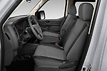 Front seat view of 2020 Nissan NV-Passenger S 4 Door Passenger Van Front Seat  car photos