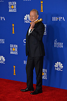 LOS ANGELES, USA. January 05, 2020: Stellan Skarsgard in the press room at the 2020 Golden Globe Awards at the Beverly Hilton Hotel.<br /> Picture: Paul Smith/Featureflash