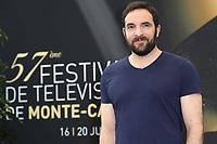 David MORA - Photocall 'SCENES DE MENAGE' - 57ème Festival de la Television de Monte-Carlo. Monte-Carlo, Monaco, 17/06/2017. # 57EME FESTIVAL DE LA TELEVISION DE MONTE-CARLO - PHOTOCALL 'SCENES DE MENAGE'