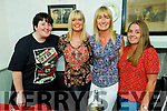 Martina Griffin, Niamh and Paula Casey and Ann Marie Duggan enjoying the evening in Cassidys on Friday.