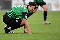 Mana Mihashi of Sassuolo reacts during the women Serie A football match between US Sassuolo and Hellas Verona at Enzo Ricci stadium in Sassuolo (Italy), November 15th, 2020. Photo Andrea Staccioli / Insidefoto