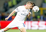 Real Madrid's Toni Kroos (l) and Atletico de Madrid's Koke Resurrecccion during UEFA Champions League 2015/2016 Final match.May 28,2016. (ALTERPHOTOS/Acero)