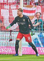 Ron-Robert ZIELER, goalkeeper VFB 16 <br /> FC BAYERN MUENCHEN - VFB STUTTGART 1-4<br /> Football 1. Bundesliga , Muenchen,12.05.2018, 34. match day,  2017/2018, <br />  *** Local Caption *** © pixathlon