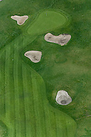 aerial photograph Rooster Run Golf Course, Petaluma, Sonoma county, California