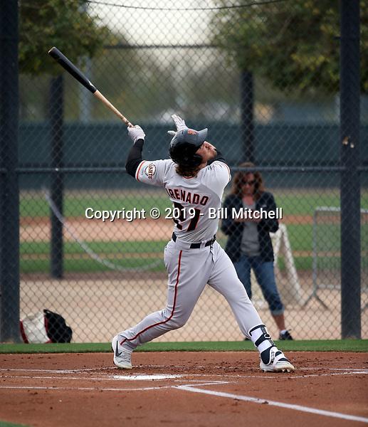 Jonah Arenado - San Francisco Giants 2019 spring training (Bill Mitchell)