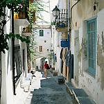 Spain, Catalonia, Costa Brava, Cadaques: old town lane | Spanien, Katalonien, Cadaques: Fischerdorf an der Costa Brava, Gasse