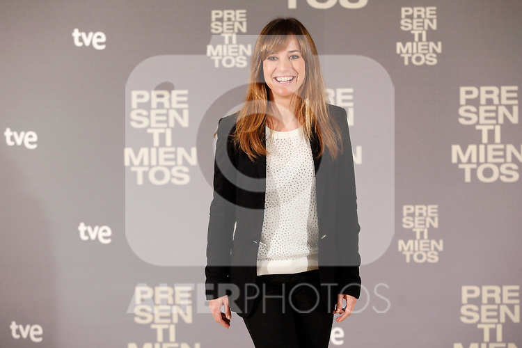 Spanish actress Marta Etura  attends the 'Presentimientos' photocall at the Princesa cinema. January 21, 2014. (ALTERPHOTOS/Victor Blanco)