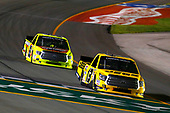 NASCAR Camping World Truck Series<br /> Buckle Up In Your Truck 225<br /> Kentucky Speedway, Sparta, KY USA<br /> Friday 7 July 2017<br /> Cody Coughlin, JEGS Toyota Tundra and Matt Crafton, Jack Links / Menards Toyota Tundra<br /> World Copyright: Russell LaBounty<br /> LAT Images