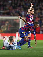 Ansu Fati, Ivan Rakitic, Rochina<br /> Barcelona 02-02-2020 Camp Nou <br /> Football 2019/2020 La Liga <br /> Barcelona Vs Levante <br /> Photo Paco Larco / Panoramic / Insidefoto <br /> ITALY ONLY