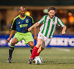 Ajax All Stars plays KCC Veterans during the HKFC Citibank International Soccer Sevens at the Hong Kong Football Club on 24 May 2013 in Hong Kong, China. Photo by Victor Fraile / The Power of Sport Images