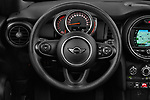 Car pictures of steering wheel view of a 2018 Mini MINI One Salt 2 Door Convertible