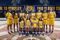 Cal Basketball W Marketing and Team Photo, September 29, 2016