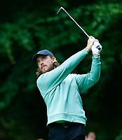 2nd July 2021; Mount Juliet Golf Club, Kilkenny, Ireland; Dubai Duty Free Irish Open Golf, Day Two; Tommy Fleetwood of England tees off on the 11th hole