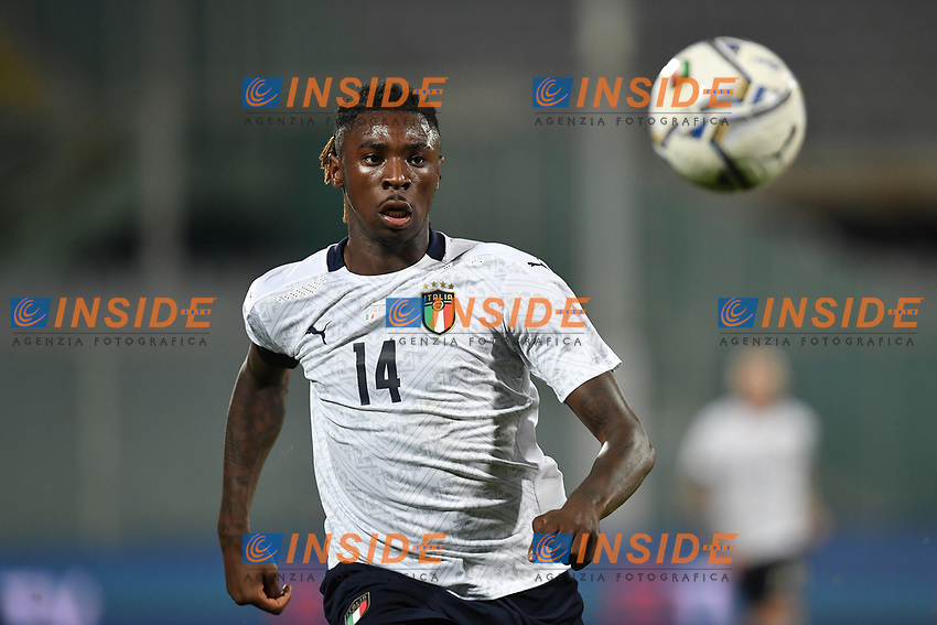 Moise Kean of Italia during the friendly football match between Italy and Moldova at Artemio Franchi Stadium in Firenze (Italy), October, 7th 2020. Photo Andrea Staccioli/ Insidefoto