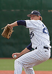 March 24, 2012:   Nevada Wolf Pack starter Bradey Shipley throws against the BYU Cougars during their NCAA baseball game played at Peccole Park on Thrusday afternoon in Reno, Nevada.