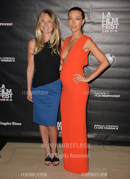 """Vail Bloom & Natalie Zea at the premiere of """"Too Late"""", part of the LA Film Festival, at the Bing Theatre at LACMA.<br /> June 11, 2015  Los Angeles, CA<br /> Picture: Paul Smith / Featureflash"""