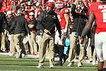 December 30, 2016: Georgia Bulldogs head coach Kirby Smart reacting to a call on the field in the 4th quarter of the AutoZone Liberty Bowl at Liberty Bowl Memorial Stadium in Memphis, Tennessee. ©Justin Manning/Eclipse Sportswire/Cal Sport Media