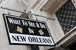 Scenes from a Sunday afternoon in the French Quarter of New Orleans.