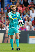Thomas Kraft of Hertha Berlin during the pre season friendly match between Crystal Palace and Hertha BSC at Selhurst Park, London, England on 3 August 2019. Photo by Carlton Myrie / PRiME Media Images.