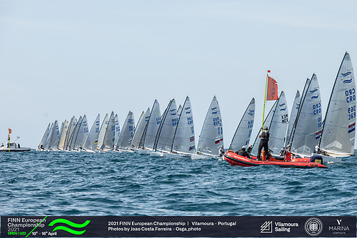 A start at the 2021 Open and U23 Finn European Championship in Vilamoura, Portugal