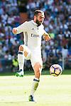 Real Madrid's player Daniel Carvajal during a match of La Liga Santander at Santiago Bernabeu Stadium in Madrid. October 02, Spain. 2016. (ALTERPHOTOS/BorjaB.Hojas)
