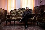 Irak, Juni 2014 - Die irakische Stadt Karakosch beheimatet die letzten Christen im Irak.  Pastor manuel ist aus Mossul geflohen, um seine kleiner kleinen christlichen Gemeinde die mit ihm floh beistand zu leisten.<br /> <br /> Engl.: Asia, Iraq, North Iraq, conflict area, Karakosh, the last Christians in Iraq are domiciled in Karakosh, Pastor Manuel fled from Mosul, June 2014
