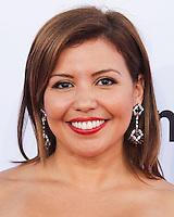 PASADENA, CA, USA - OCTOBER 10: Justina Machado arrives at the 2014 NCLR ALMA Awards held at the Pasadena Civic Auditorium on October 10, 2014 in Pasadena, California, United States. (Photo by Celebrity Monitor)